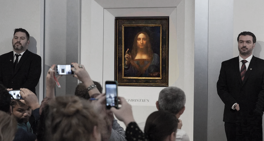 """""""The Savior for Sale : The Story of The Salvator Mundi """" mixes genres and questions authenticity"""